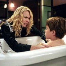Naomi Watts e David Dorfman in una scena di The Ring 2