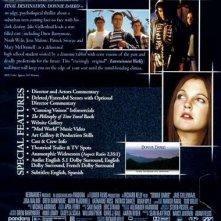Il retro del DVD americano di Donnie Darko