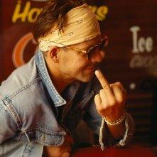 Mickey Rourke in una foto di Walter Leonardi
