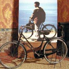 La bicicletta de Il postino, in esposizione nella mostra dedicata a M. Troisi a Villa Bruno (San Giorgio a Cremano, Napoli)