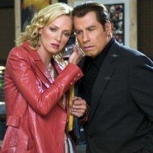 Uma Thurman e John Travolta in una scena di Be Cool