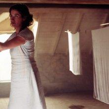 Emmanuelle Devos in una scena de La donna di Gilles