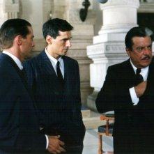 Stefano Dionisi, Giancarlo Giannini e Nicola Farron  in una scena di Raul - Diritto di uccidere