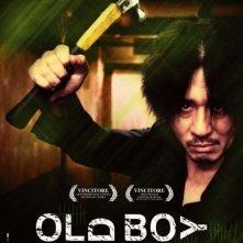 Il poster italiano di Old Boy