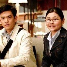 John Cho e Siu Ta in una scena di American Trip