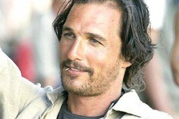 Matthew McConaughey in una scena di Sahara (2005)