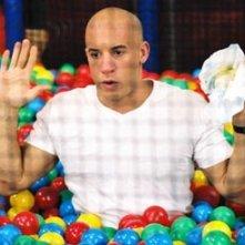 Vin Diesel in una scena di Missione Tata, del 2005