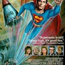 La locandina di Superman IV