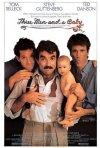 La locandina di Tre scapoli e un bebè