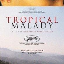 La locandina italiana di Tropical Malady