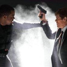 Ice Cube e Willem Dafoe in una scena di xXx 2: The Next Level
