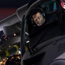 Samuel Jackson in una scena di xXx: The Next Level