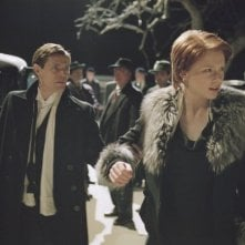 Bryce Dallas Howard e Willem Dafoe in una scena del film Manderlay