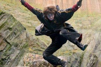 Daniel Radcliffe in una scena del film Harry Potter e il calice di fuoco