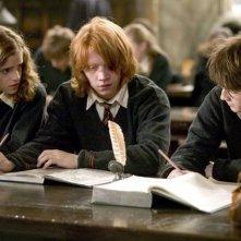 Emma Watson. Rupert Grint e Daniel Radcliffe sono i protagonisti di Harry Potter e il calice di fuoco