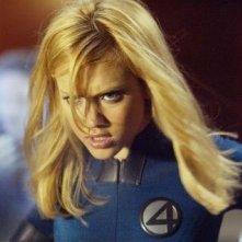 Jessica Alba in una scena del film I Fantastici Quattro