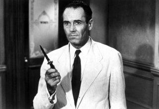 Henry Fonda in una scena de La parola ai giurati