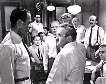 Henry Fonda, Lee J Cobb, George Voskovec,John Fiedler, Martin Balsam ne La parola ai giurati