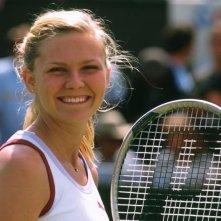 Kirsten Dunst in una sequenza del film Wimbledon