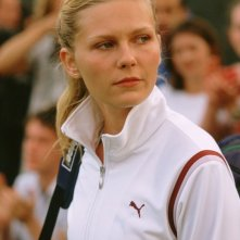 Kirsten Dunst in una immagine del film Wimbledon