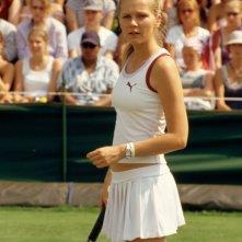 Kirsten Dunst in una scena di Wimbledon