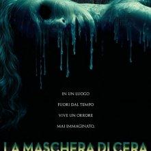 La locandina italiana de La maschera di cera