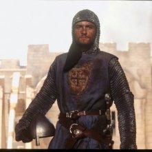 Orlando Bloom in una scena del film Le crociate