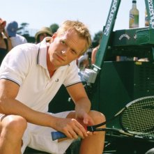 Paul Bettany in una immagine del film Wimbledon
