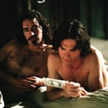 Billy Crudup e Ben Chaplin in una scena di Stage Beauty
