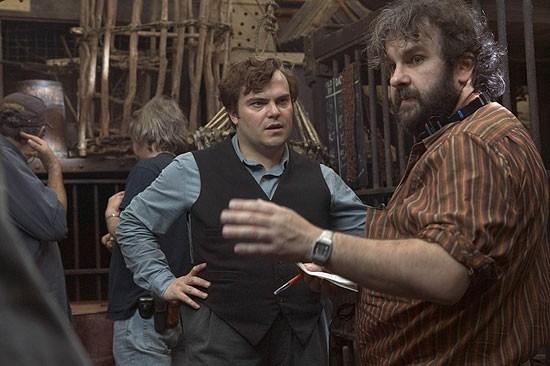 Jack Black E Peter Jackson Sul Set Di King Kong 13712