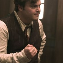 Jack Black in una sequenza di King Kong