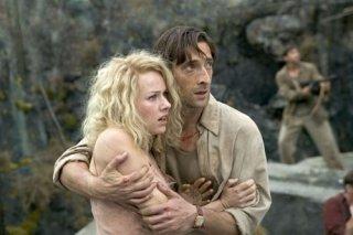 Naomi Watts con Adrien Brody in una scena di King Kong