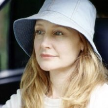 Patricia Clarkson in una scena di The Station Agent
