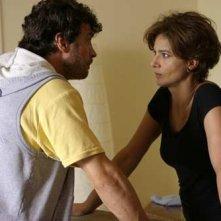 Alessio Boni e Laura Morante in una scena di Non aver paura