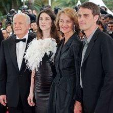 André Dussollier, Charlotte Gainsbourg, Charlotte Rampling e Laurent Lucas a Cannes per presentare Lemming