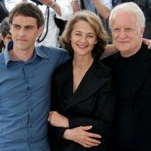 Laurent Lucas, Charlotte Rampling e André Dussollier a Cannes per presentare Lemming