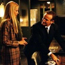 Robin Williams e Mira Sorvino in una scena di The Final Cut