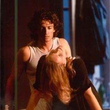 Alessio Boni in uno spettacolo teatrale con Chiara Noschese