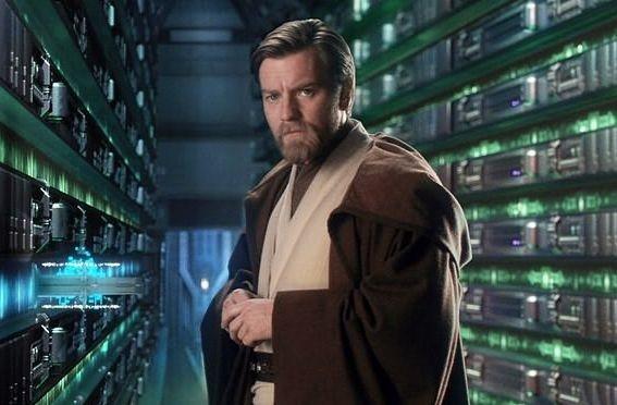 Ewan McGregor in una scena di Star Wars ep. III - La vendetta dei Sith