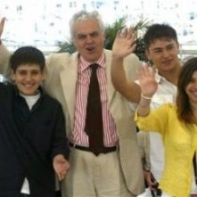 Matteo Gadola, Marco Tullio Giordana, Vlad Alexandru Toma e Ester Hazan sulla Croisette