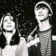 Michelle Trachtenberg e Joseph Gordon-Levitt in una scena di Mysterious Skin