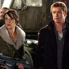 Simon Baker ed Asia Argento in una scena di Land of the Dead