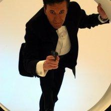 Geoffrey Rush in una scena di Una pantera a Hollywood