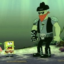 Una scena di The SpongeBob SquarePants Movie del 2004
