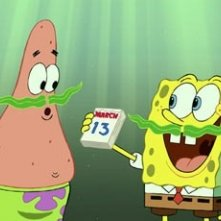 Una scena del cartoon SpongeBob il film