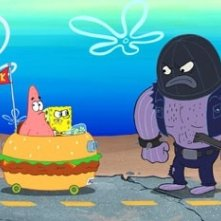Una scena di The SpongeBob SquarePants Movie, uscito nel 2004