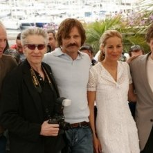 William Hurt, David Cronenberg, Viggo Mortensen, Maria Bello e Ashton Holmes