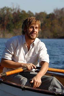 Ryan Gosling in una scena di Le pagine della nostra vita