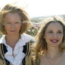 Tilda Swinton e Julie Delpy