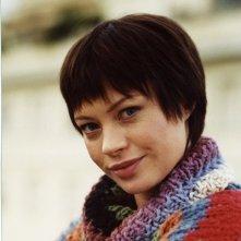 Anna Falchi in una scena del film Nessun messaggio in segreteria